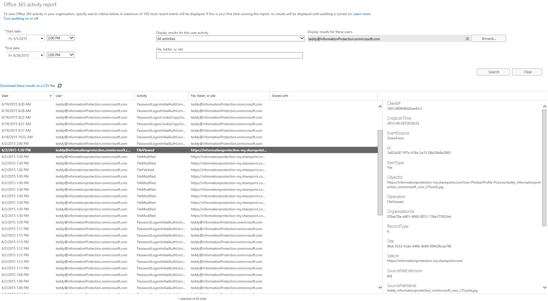 Announcing New Activity Logging And Reporting Capabilities
