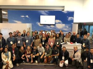 group photo at NeurIPS conference