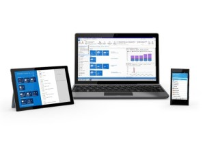 Surface z Microsoft Dynamics NAV