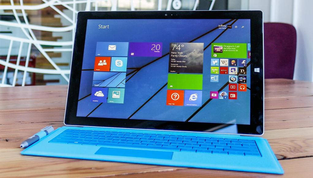 Surface pro 3 comercial