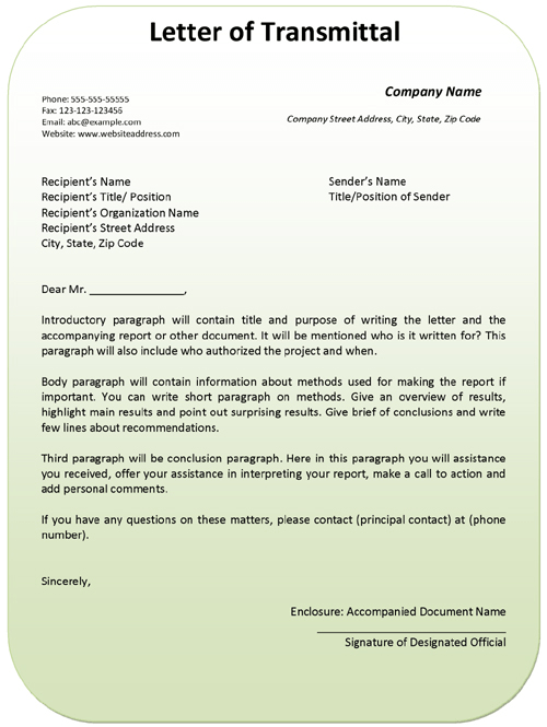 Example Loan Proposal Letter
