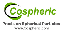 Cospheric - the leading global manufacturer and supplier of precision spherical particles