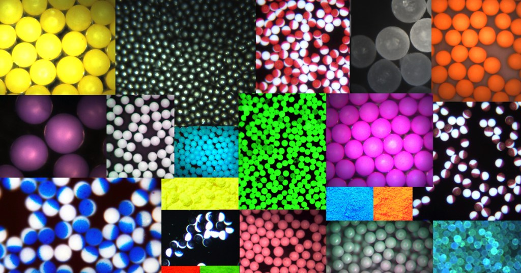 Properties of Microspheres - Composition