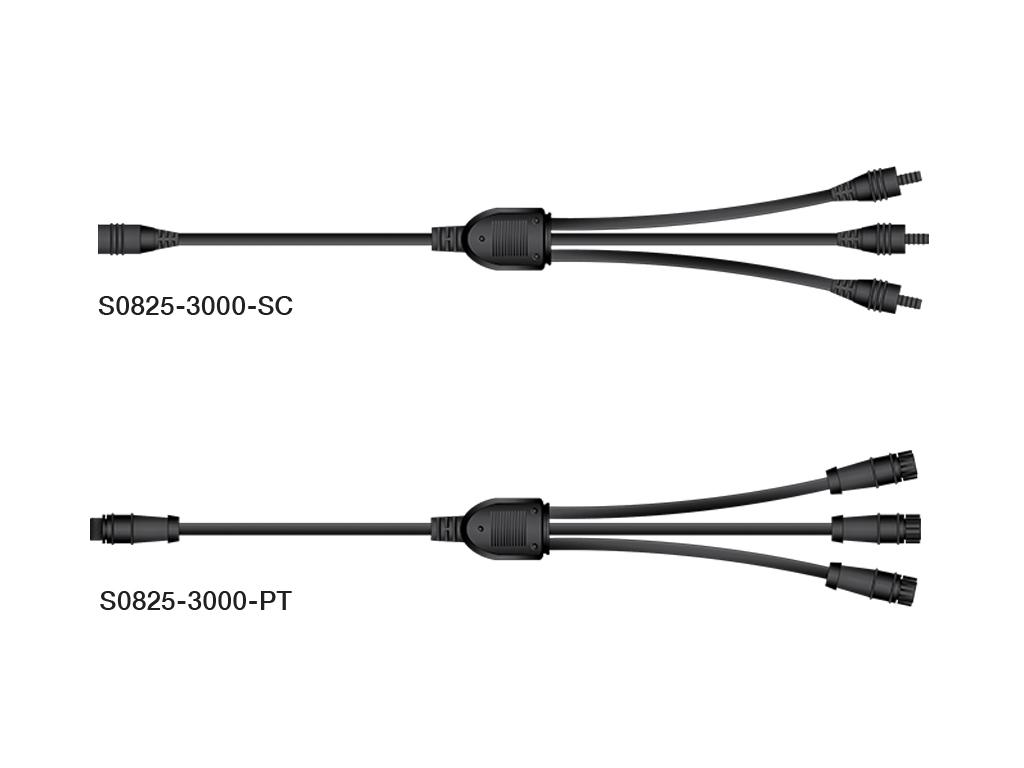 Micro Star 3 Way Branch Connector