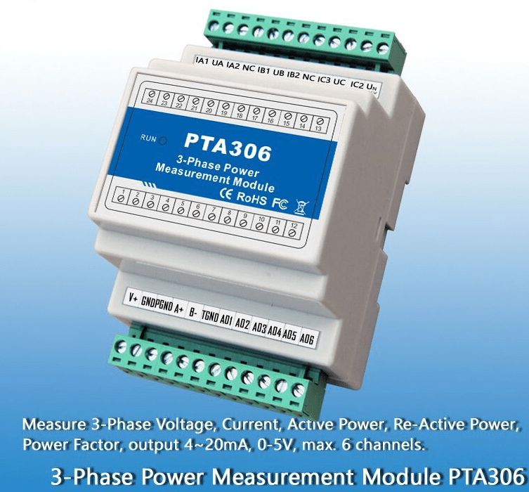 3 Phase Smart Electric Transducer - Microthings