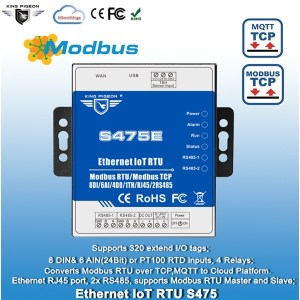Ethernet IoT Remote Terminal Unit S475E