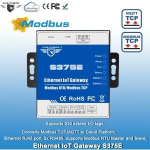 Ethernet Modbus MQTT IoT Gateway
