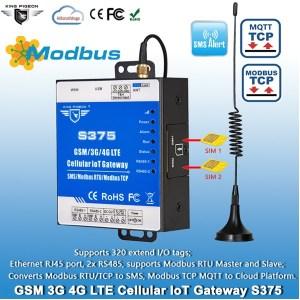 Cellular Modbus MQTT IoT Gateway S375