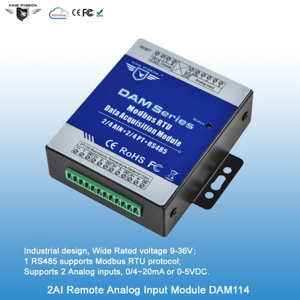 2CH Analog Data Acquisition Module