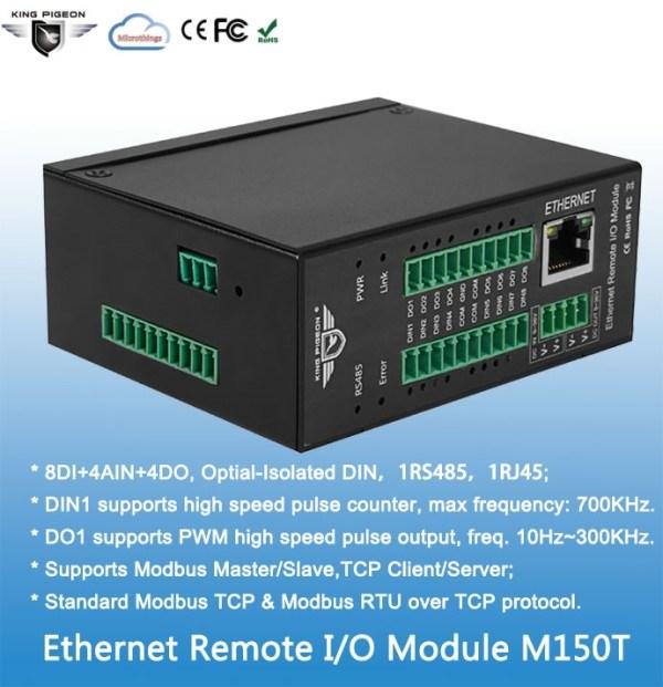 Ethernet Remote IO Module(8DIN+4AIN+4DO)