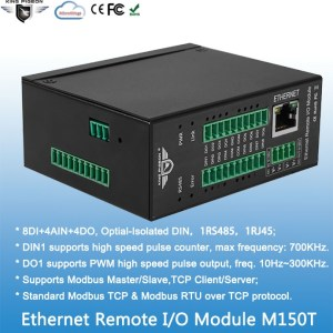 Ethernet Remote IO Module(8DIN+4AIN+4DO)