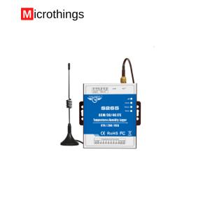 GSM Temperature Humidity Monitoring Alarm
