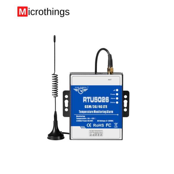 GSM Temperature Monitoring Alarm