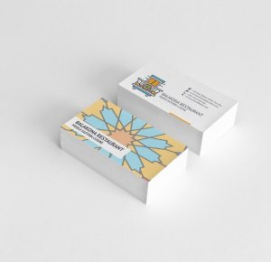 Matte Laminated Business Cards