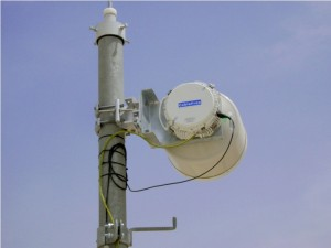 CableFree Microwave Link using 30cm antenna benefits from ACM giving longer reach and higher availability