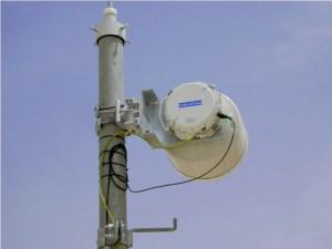 CableFree Microwave Link ODU using 30cm antenna Split Mount Radio