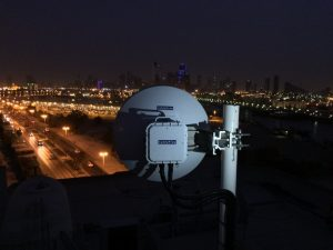 CableFree MMW Millimeter Wave Link installed in UAE