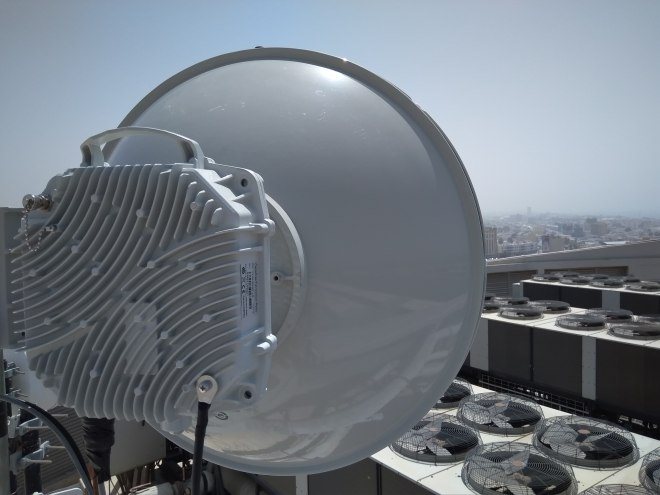 CableFree FOR3 Microwave Installed in the Middle East