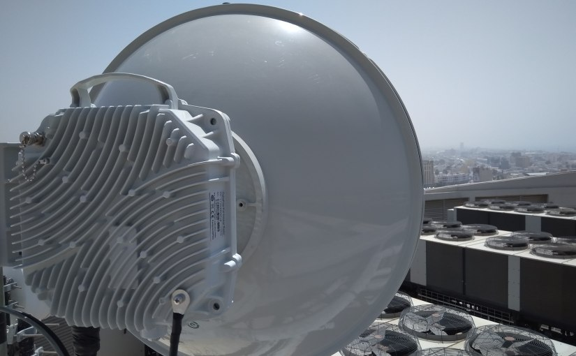 CableFree FOR3 Microwave Links Deployed in Middle East