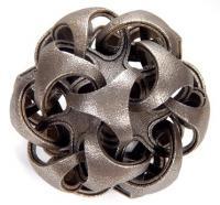 Quintron geometric art sculpture
