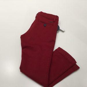 Pantalon chino granate