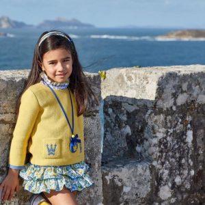 Conjunto con jersey Marie de Eva Castro