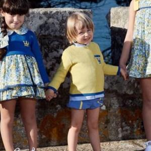 Conjunto niño Marie de la coleccion Eva Castr