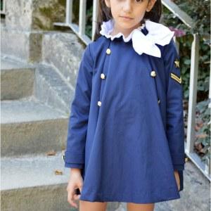 vestido navy de noma fernandez