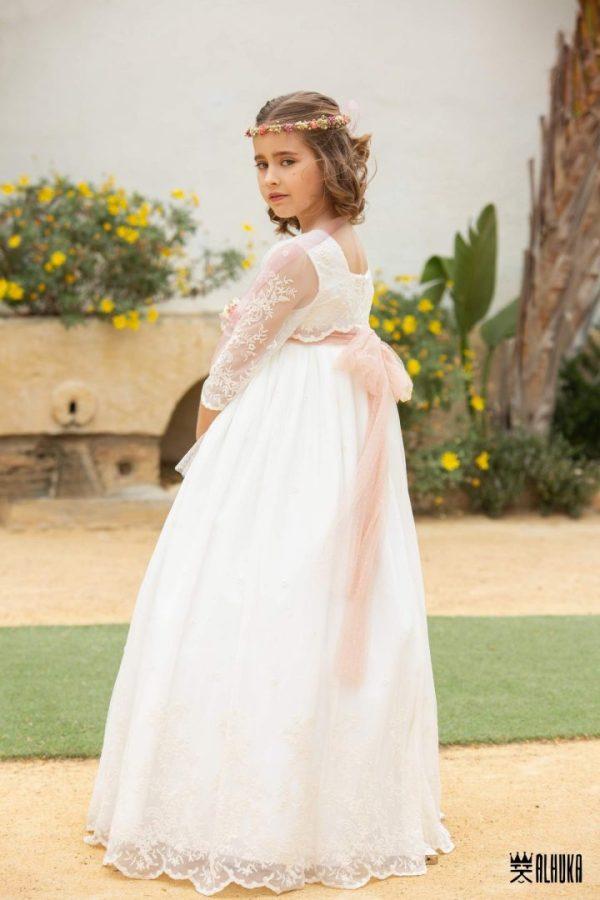 vestido comunión alhuka