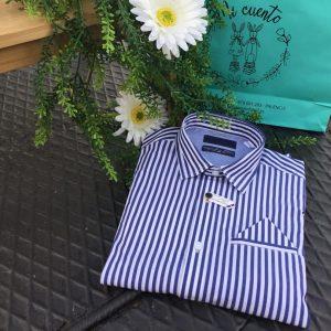 camisa niño rayas sarabanda