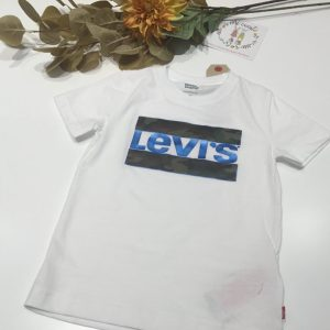 camiseta levis camuflaje