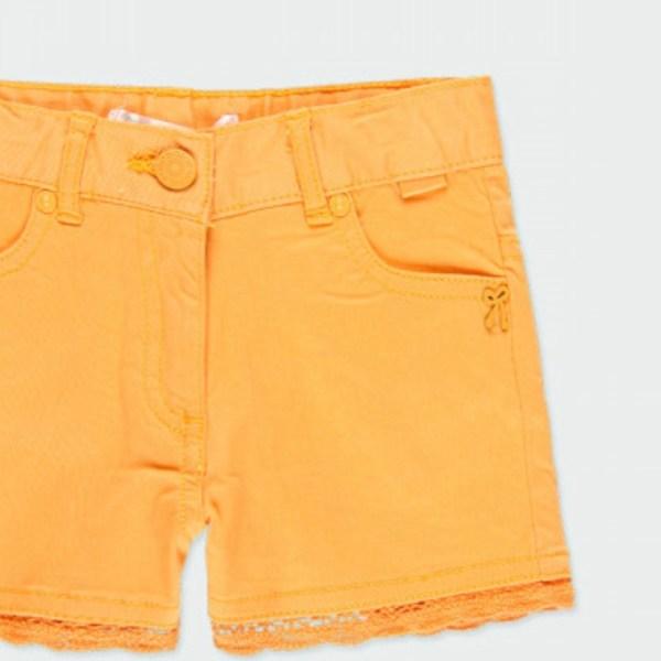pantalon corto mostaza