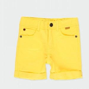 pantalon corto amarillo