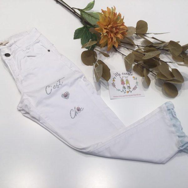 pantalon blanco kauli