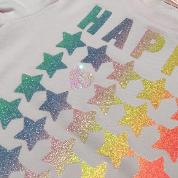 sudadera estrellas happy
