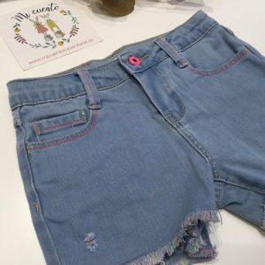 pantalon corto billie blush