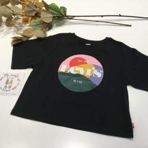 camiseta corta levis niña