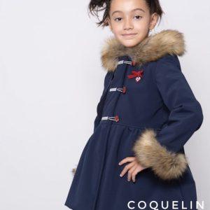 abrigo azul de coquelin
