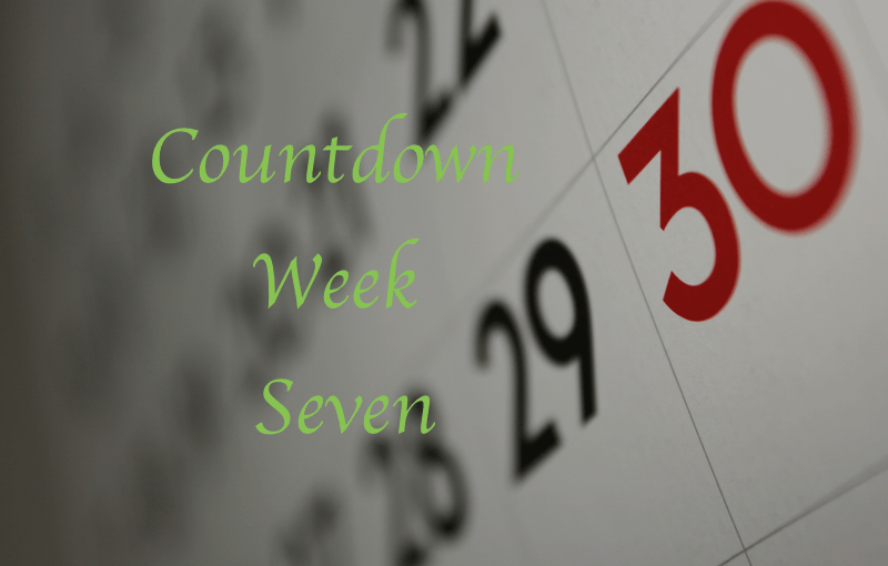 Countdown to 195: Week Seven