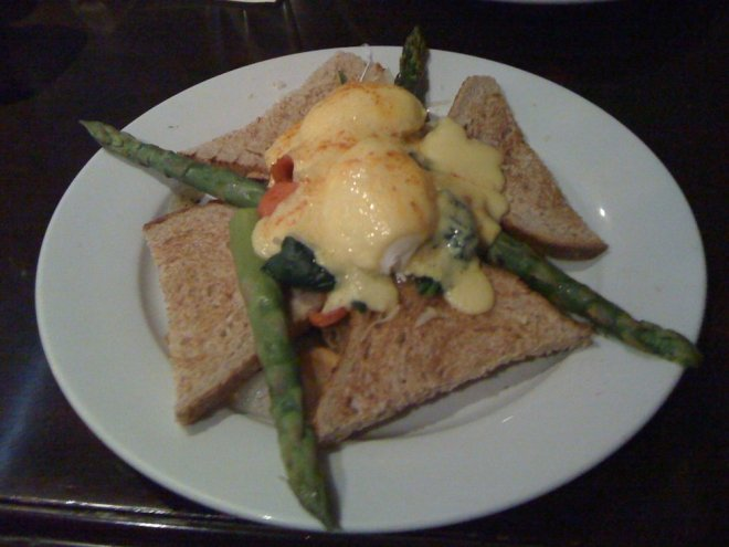 California Dreaming Eggs Benedict from Eggspectation