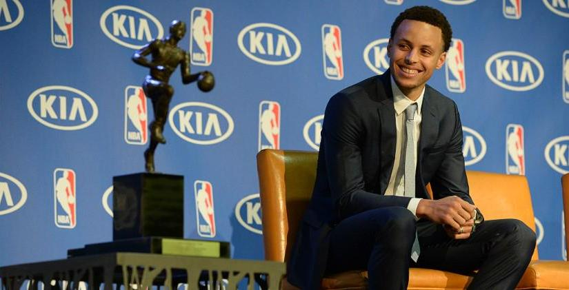 Stephen Curry 2015 MVP