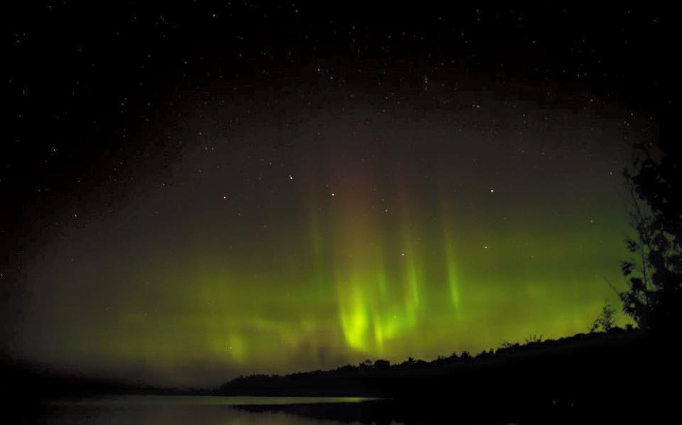Northern Lights Caused Solar Wind