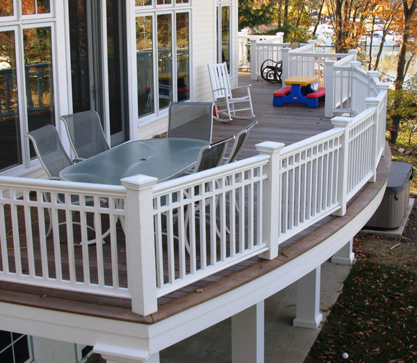 mid atlantic deck fence