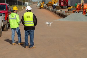 Drone Services - Construction Shoot