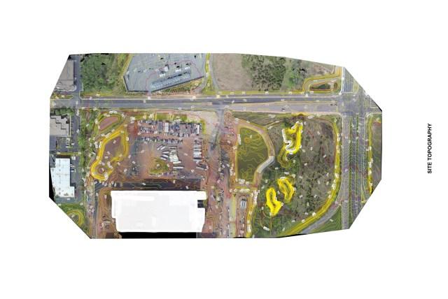 Aerial Drones: Contours