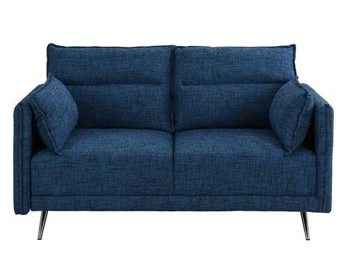 Casa Andrea Milano - Two-seat Sofa Midcentury - Blue Navy