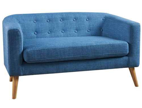 Christopher Knight Home Bridie Midcentury Loveseat - Blue