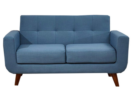 Container Furniture Direct - Rainbeau Loveseat - Blue