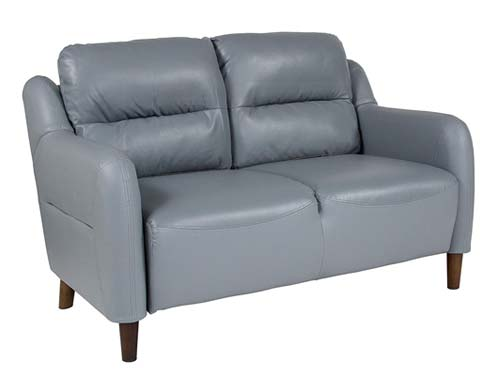 Flash Furniture Newton Hill - Two-seat Sofa Midcentury - Grey