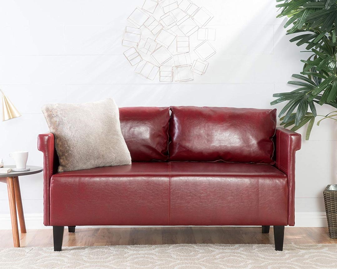 GDF Studio - Harbison Loveseat - Mid-century Sofa - Featured